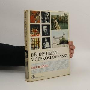 náhled knihy - Dějiny umění v Československu