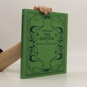 náhled knihy - Art nouveau a belga építészetben (maďarsky)