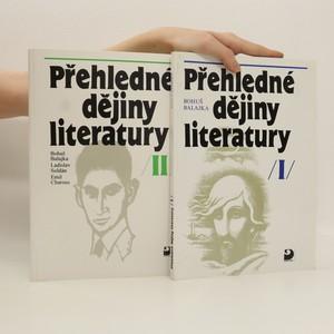 náhled knihy - Přehledné dějiny literatury. I. a II. díl (2 svazky)