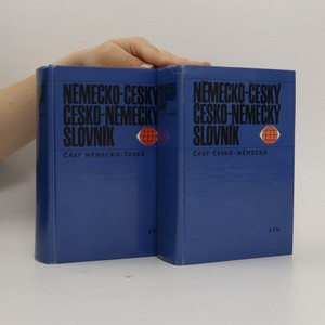 náhled knihy - Německo-český a česko-německý slovník (2 svazky)