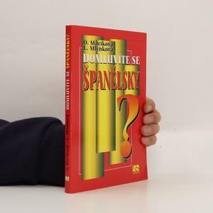 náhled knihy - Domluvíte se španělsky?