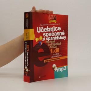 náhled knihy - Učebnice současné španělštiny 1.díl = Manual de Espaňol Actual