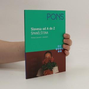 náhled knihy - Slovesa od A do Z. Španělština