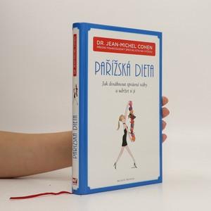 náhled knihy - Pařížská dieta : jak dosáhnout správné váhy a udržet si ji