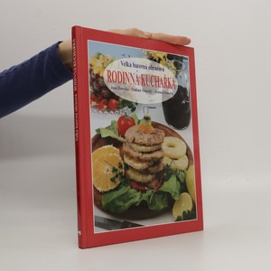 náhled knihy - Velká barevná obrazová rodinná kuchařka
