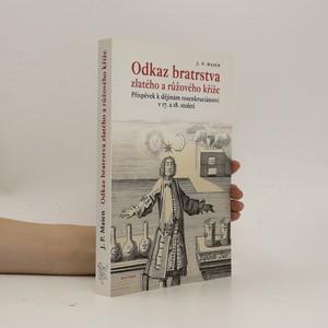 náhled knihy - Odkaz bratrstva zlatého a růžového kříže : příspěvek k dějinám rosenkruciánství v 17. a 18. století