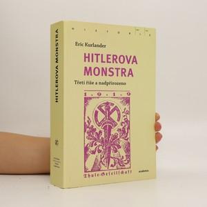 náhled knihy - Hitlerova monstra: Třetí říše a nadpřirozeno