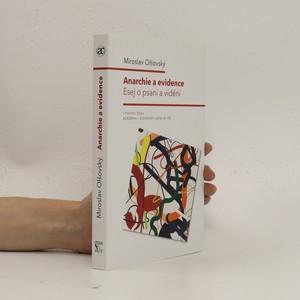 náhled knihy - Anarchie a evidence: Esej o psaní a vidění