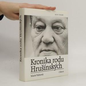 náhled knihy - Kronika rodu Hrušínských