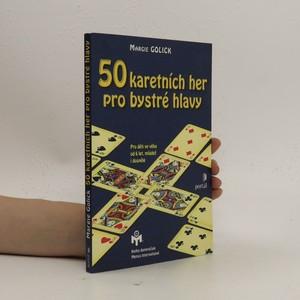 náhled knihy - 50 karetních her pro bystré hlavy. Pro děti ve věku od 6 let, mládež i dospělé