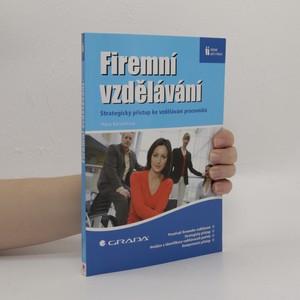 náhled knihy - Firemní vzdělávání