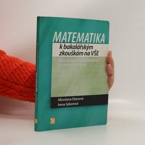 náhled knihy - Matematika k bakalářským zkouškám na VŠE