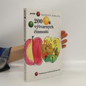 náhled knihy - 200 výtvarných činností