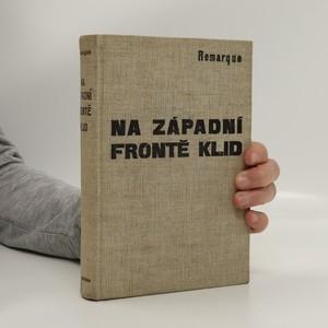 náhled knihy - Na západní frontě klid