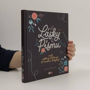 náhled knihy - Z lásky k písmu, aneb, Základy letteringu & moderní kaligrafie