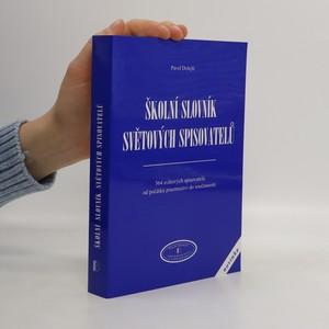 náhled knihy - Školní slovník světových spisovatelů