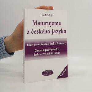 náhled knihy - Maturujeme z českého jazyka
