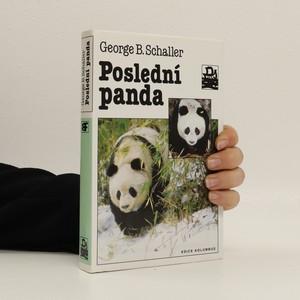 náhled knihy - Poslední panda