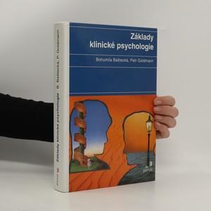 náhled knihy - Základy klinické psychologie